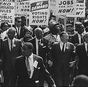 Photo from the 1963 March on Washington