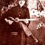 Photo of Iranian musician Morteza Neydavood