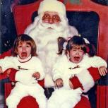 """Photo of """"scary Santa"""""""